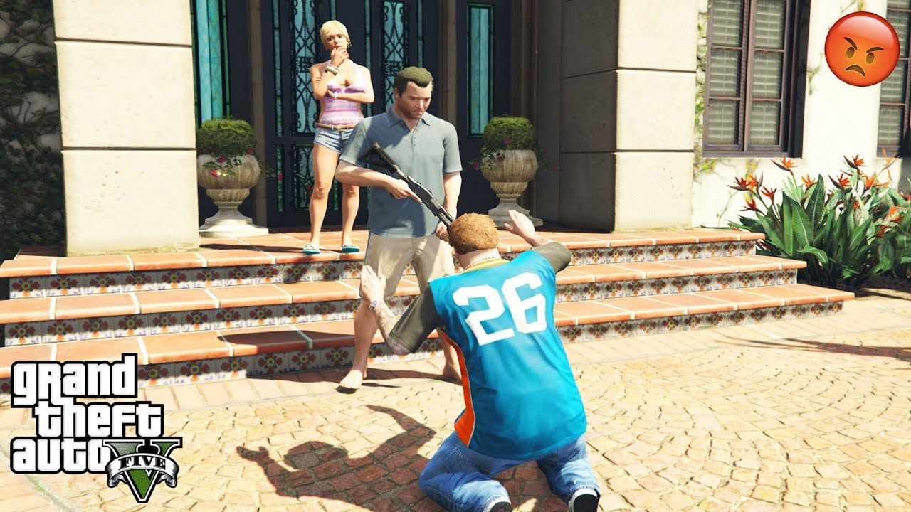 Download GTA 5 - What Happens if You Reach Michael's House BEFORE JIMMY POISONS MICHAEL (secret ending)