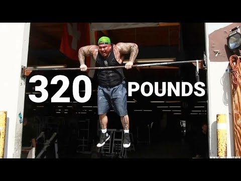 LEARNING TO MUSCLE-UP AT 320 POUNDS! with FRANK MEDRANO & BIG BOY