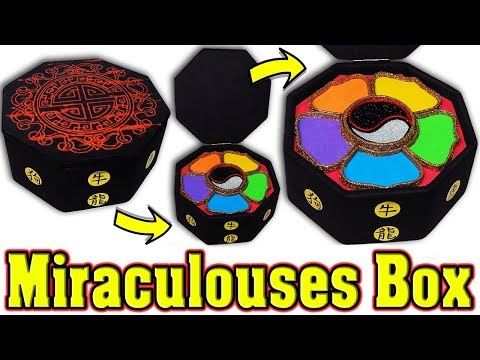 DIY: Master Fu Jewelry Box for All Miraculouses of Miraculous Ladybug