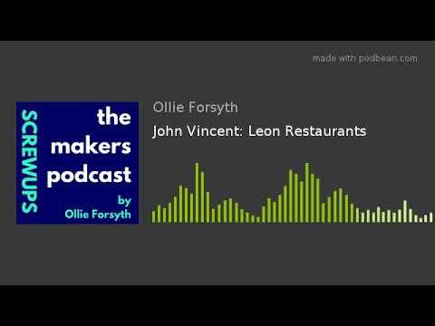 John Vincent: Leon Restaurants