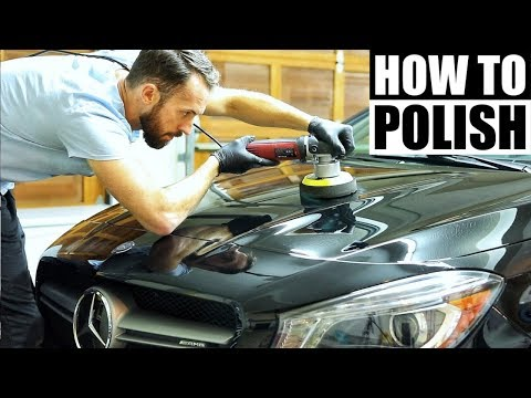 How To Polish A Car For Beginners – Car Detailing and Paint Correction!