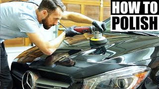 How To Polish A Car For Beginners - Car Polishing For Beginners