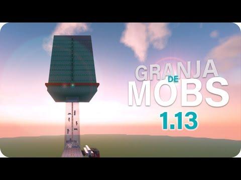 GRANJA DE MOBS   MOB FARM▕▏Tutorial minecraft - 1.11 1.12 1.13