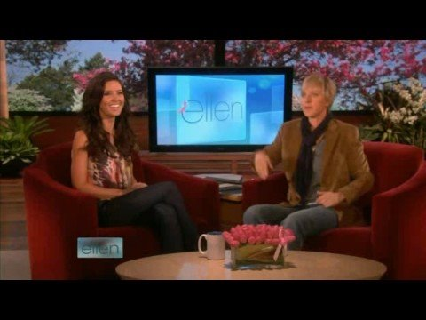 Audrina Patridge Full Interview on Ellen +Dunk Tank 10/08/08