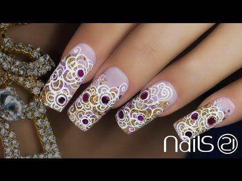 Nail Art Agra Nails 21 Youtube