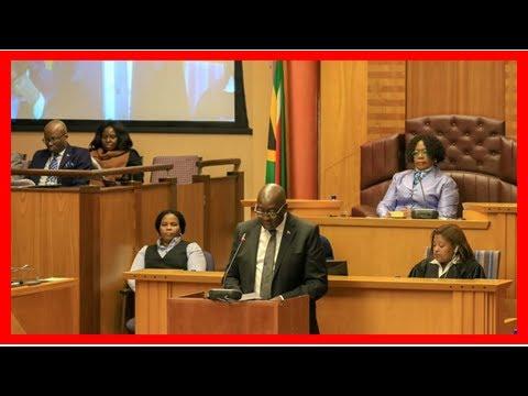 Breaking News   Minister Nhlanhla Nene - Finance Dept Budget Vote 2018/19