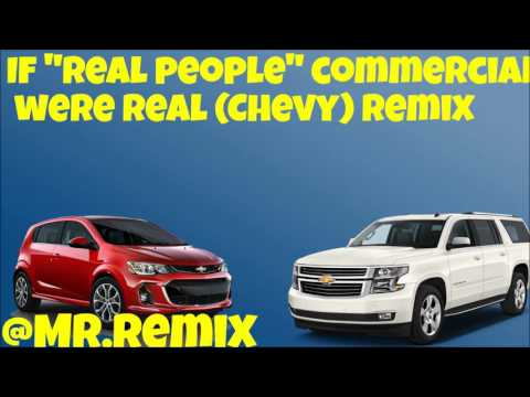 "#Chevy Awards ""Real People"" Commercial Remix [Trap/Hip hop]"