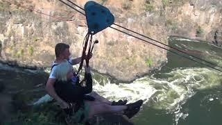 Amazing Zip Line Victoria Falls 2018