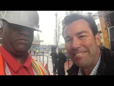 Liked on YouTube: Keith Bruce On Super Bowl City In SF #SB50