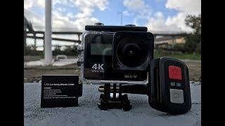4K Sport Action Camera HD 1080P Review