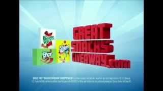 General Mills Fruit Snacks Giveaway (cocoon) (2011) Commercial