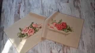 """СП"""" Роза- королева цветов""""  Розовые розы от Лука-с.  Финиш Вышивка крестом."""
