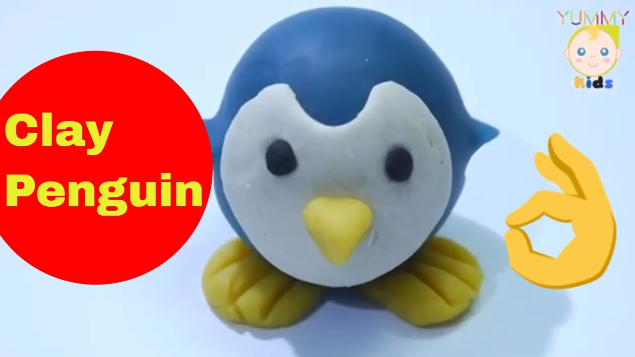 How To Make Clay Penguins   Clay Penguin Molding