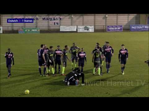 Dulwich Hamlet 3-1 Staines Town, Ryman League Premier Division, 06/12/16   Match Highlights