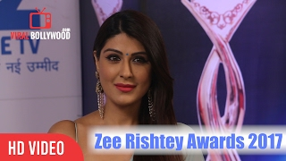Shagun Ajmani At Zee Rishtey Awards 2017 | Viralbollywood