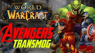 Creating The Avengers in World of Warcraft | Transmog Guide