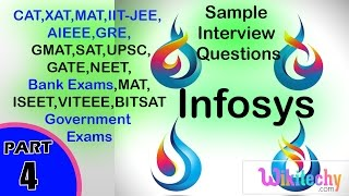 Aptitude Test Questions for Infosys | Infosys Placement Papers | Infosys Latest Placement Questions