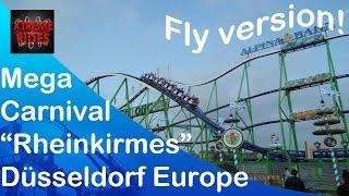 Mega Carnival Europe Rheinkirmes Düsseldorf 2014