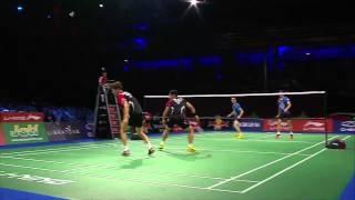 F - 2014 BWF World Championships - Ko Sung Hyun-Shin Baek Choel bt Lee Yong Dae - Yoo Yeon Seong