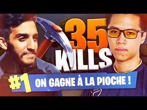 TOP 1 A LA PIOCHE - 35 KILLS KINSTAAR ET ADZ FORTNITE FR