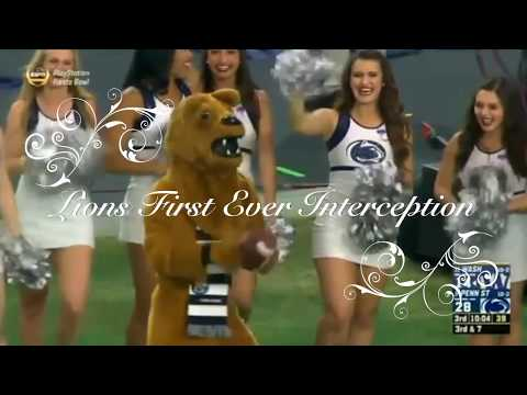 """""""GREAT CATCH"""" made by the Penn State Nittany Lion at 2017 Fiesta Bowl. We might need him to suit up!"""