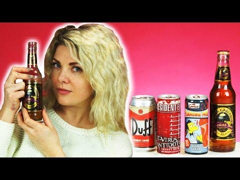 Irish People Taste Test American TV/Movie Drinks