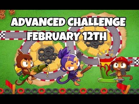 BTD6 Advanced Challenge - The Witch's Race - February 12, 2019