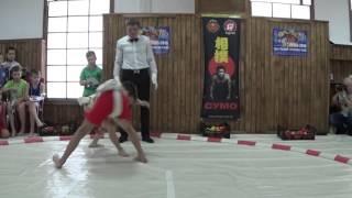Сумо (Sumo) - показательные поединки сумоистов (дети)