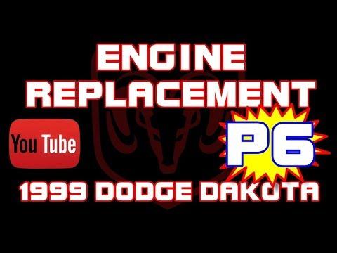 ⭐ 1999 Dodge Dakota Sport - 3.9 - Engine Replacement - PART 6