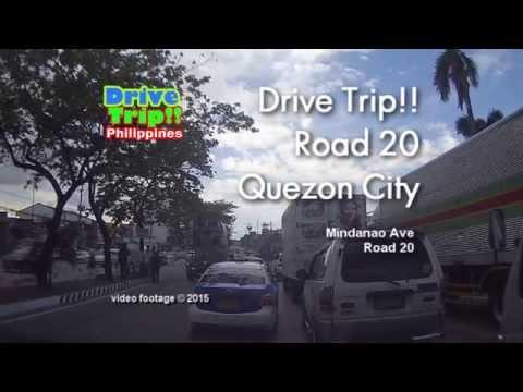 Drive Trip!! - Road 20 Quezon City / Philippines