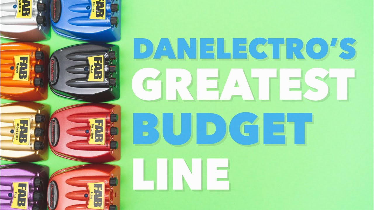 Danelectro's Greatest Budget Line