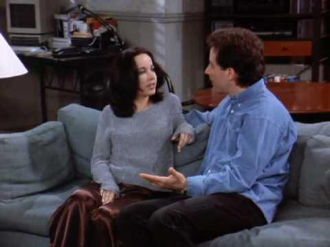 Seinfeld - Janeane Garofalo kissing