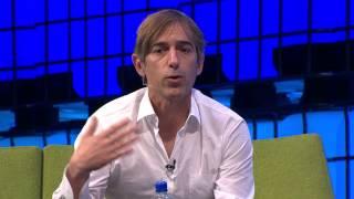 Web Summit 2014 Day Three - Mark Pincus and Tony Conrad