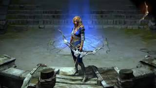 Path of Exile: Ivory Arc of Courage Bow Skin