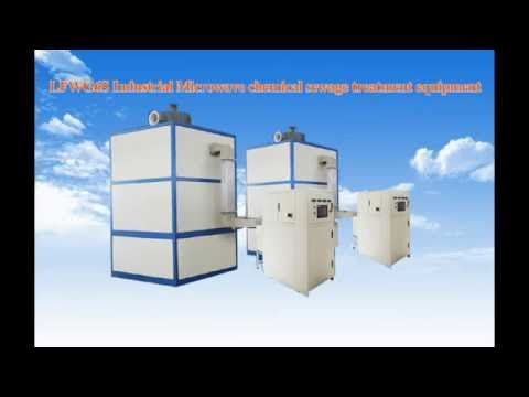LFWG6S Industrial Microwave waste water treatment Chemicals Sewage Treatment Equipment
