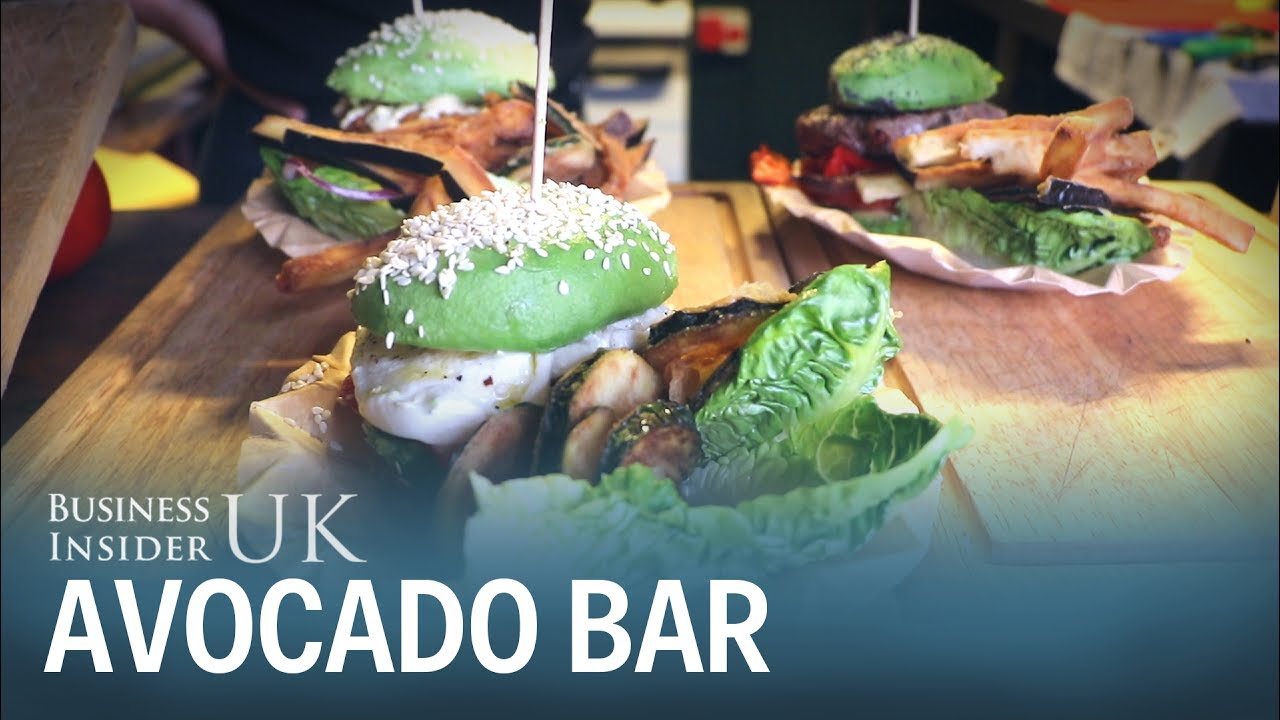 We checked out London's first all-avocado bar where they ...