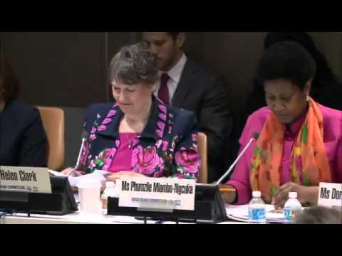 [United Nations] Broadband Working Group on Gender Report