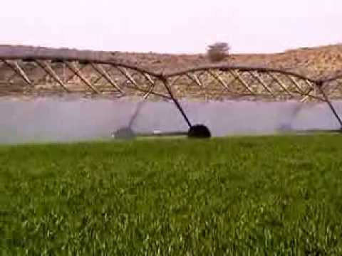 Amazing Watering System in Saudi Arabia