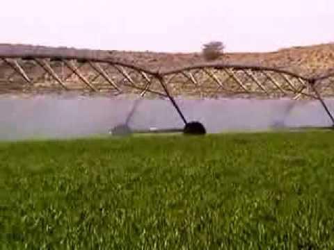 Amazing Watering System in Saudi Arabia