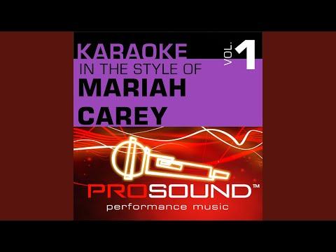 Always Be My Baby (Karaoke Instrumental Track) (In the style of Mariah Carey)