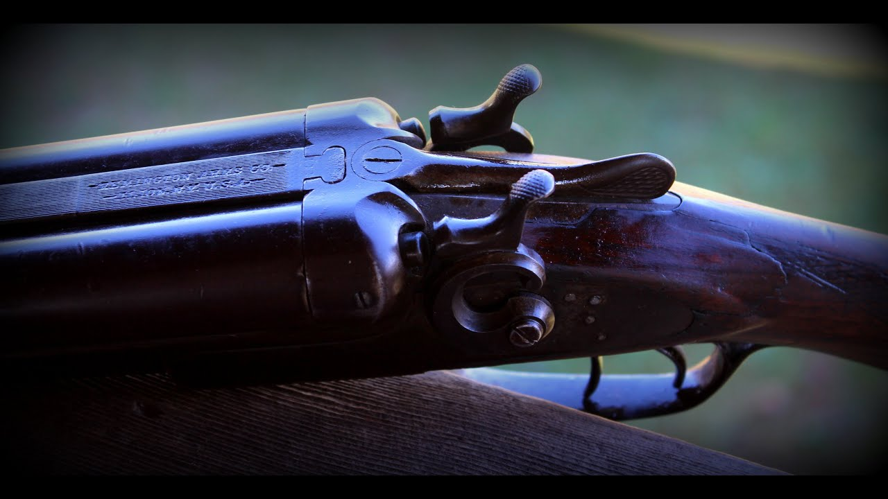Remington Shotgun Model 1889 Double Barrel
