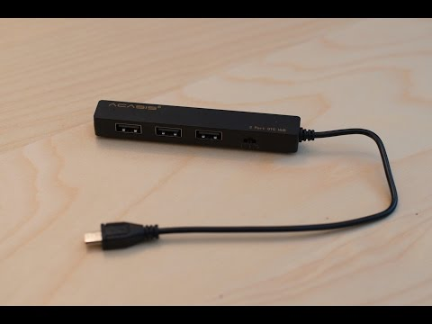 OTG USB Hub + Charging Cable for Chuwi Hi8 from Banggood - UK Unboxing and Review