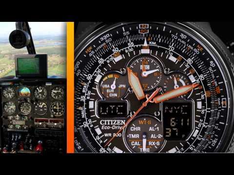Citizen Eco-Drive Promaster Air - Land - Sea Overview