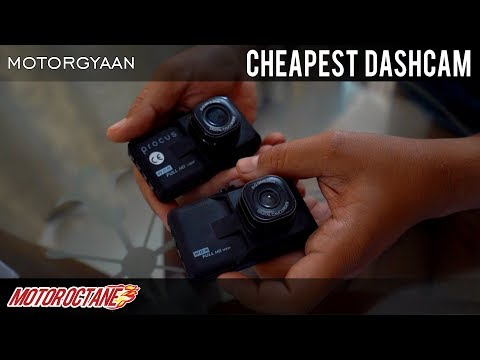 Rs 890 Car Dash Cam - Finding Best Dashcam | Hindi | MotorOctane