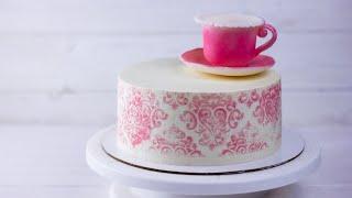 Рецепт торта Карамельная девочка лучше чем торт Молочная девочка Как собрать и украсить торт