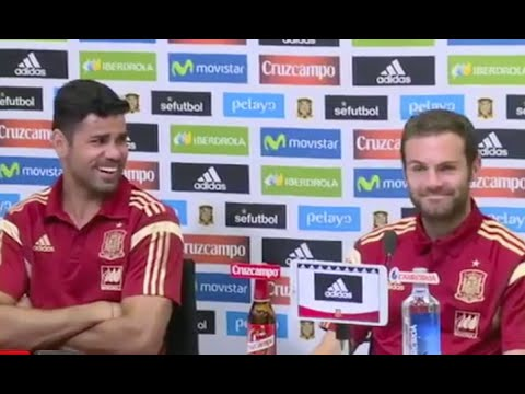 Diego Costa And Juan Mata Argue: 'Mourinho Hates You More Than Me!'*