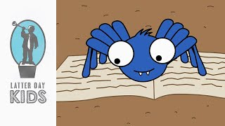 The Little Blue Spider | A Story About Discipleship