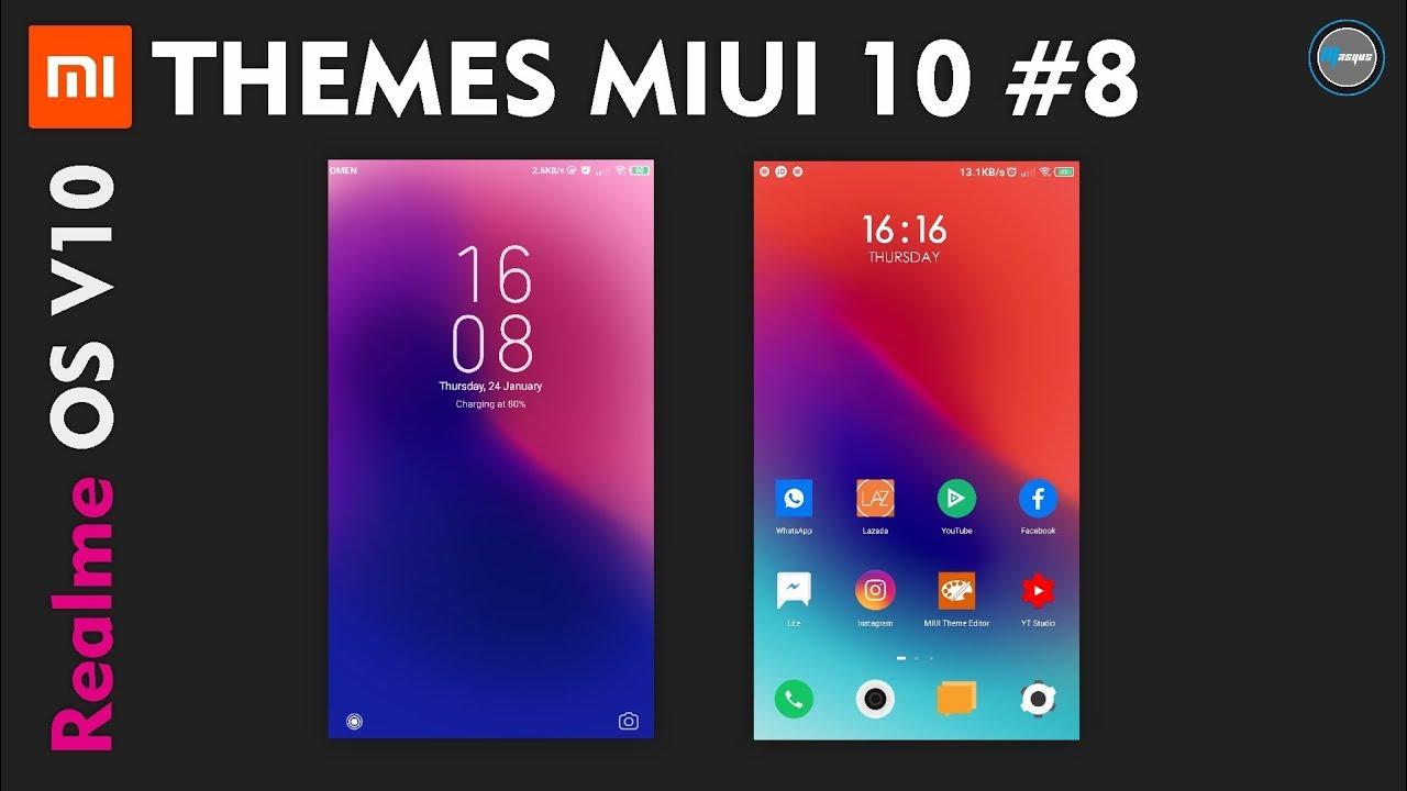 Realme OS V10 THEME MIUI 10 #8