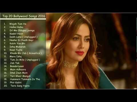 Best & Latest Bollywood Songs 2016   2017    Top 20 Bollywood Songs Jukebox