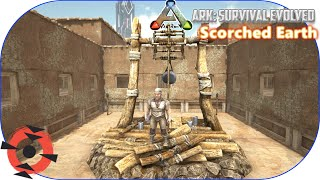 Ark: Scorched Earth DLC - BriFi - S1E2: ADOBE WATER WELL COURTYARD COMPOUND!